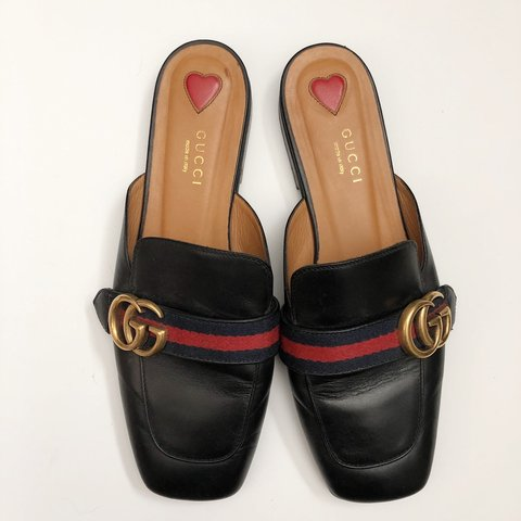 1c8a19f6c8b Gucci Peyton Mules. Purchased from Nordstrom and only worn a - Depop