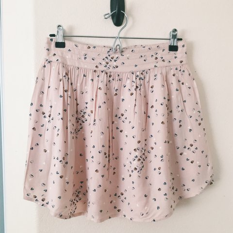 437b6a10fb 🌸 Adorable UO pink Cooperative circle skirt. Super cute for - Depop