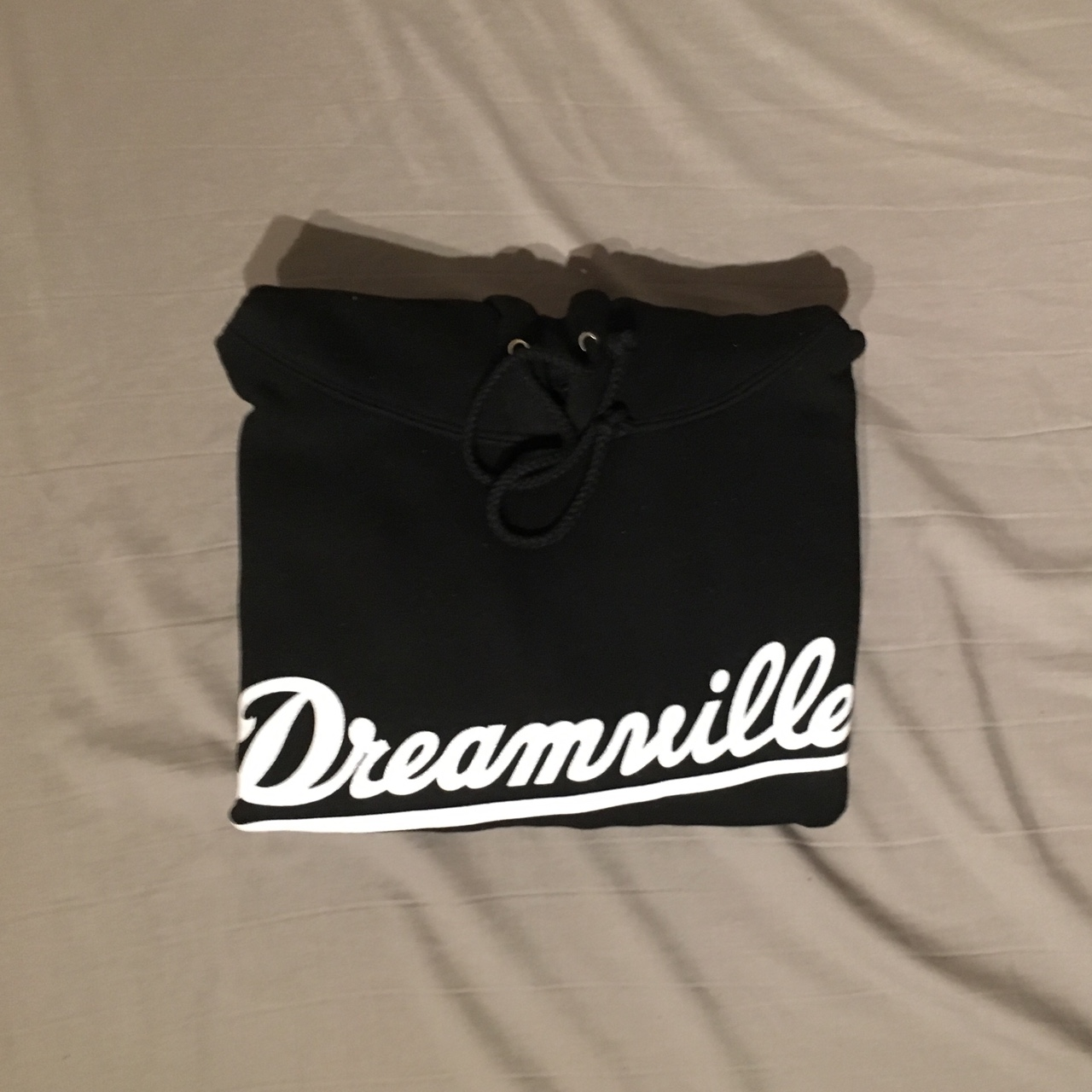 Dreamville (J Cole) Logo Hoodie Black Medium Depop
