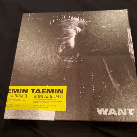 Want mini album by Taemin  Opened but never    - Depop