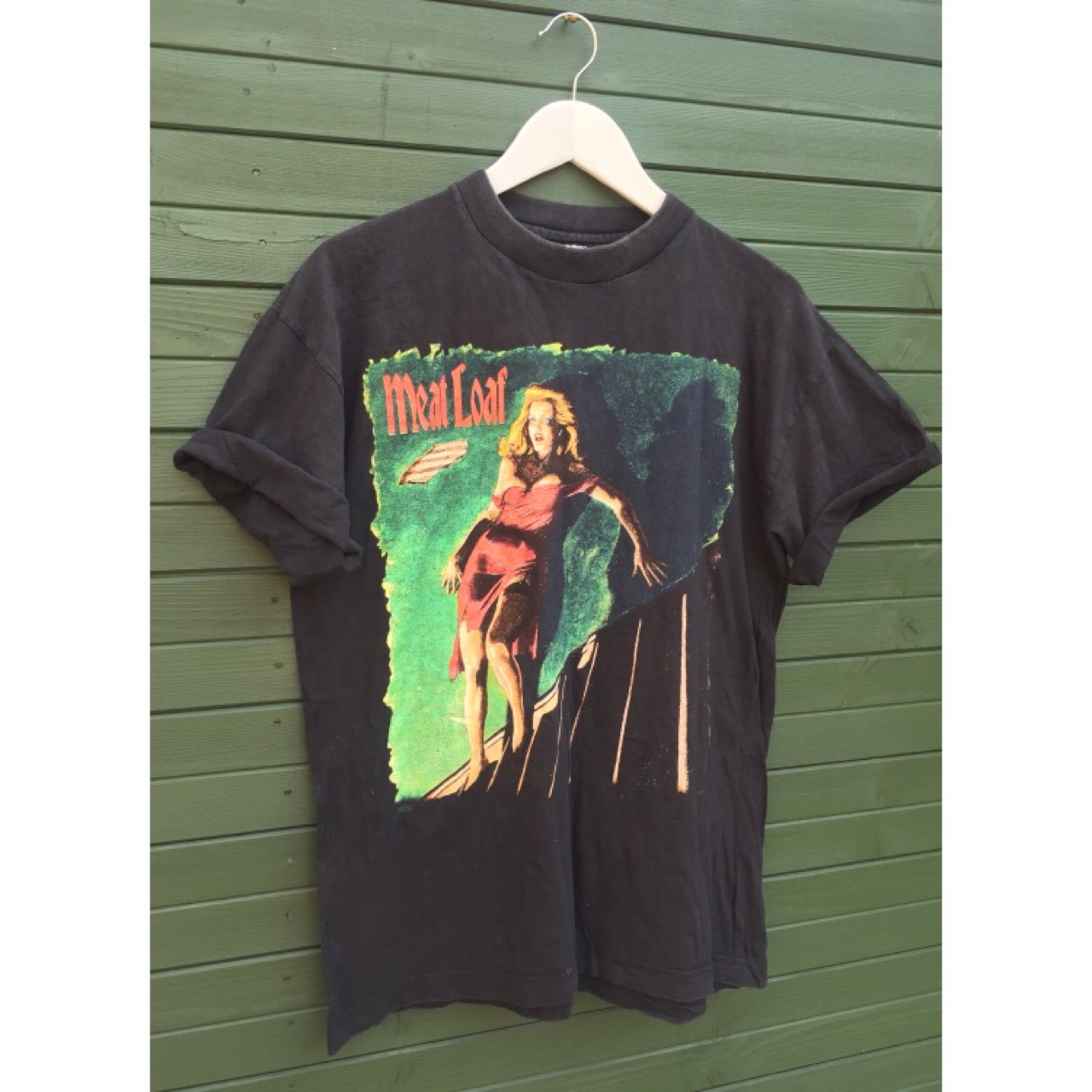 Vintage 90s 1995 Meatloaf Welcome To The Neighborhood Tour Tshirt Large
