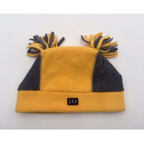 Vintage yellow wooly Gap beanie hat. 100% acrylic. Nice and - Depop aafd19e93b7