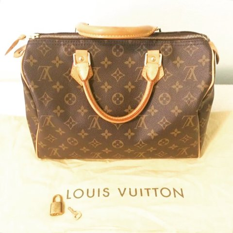 eecfed574aa0 Authentic Louis Vuitton Speedy 30 Monogram. Made in USA. and - Depop