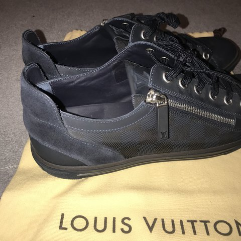 e1e535f7b1bbf Mens Louis Vuitton Trainers Size uk 9 Bought for £500 Worn - Depop