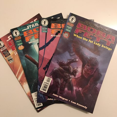 Assorted Boba Fett Star Wars Comics  Good condition    - Depop