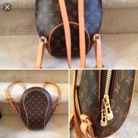 Authentic Louis Vuitton Monogram Canvas Ellipse Bag  9510d5797f291