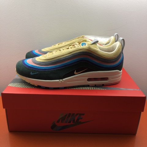 2e6552e899ff36 Nike x Sean Wotherspoon Air Max 1 97 SW US 9.5   UK 8.5   - - Depop