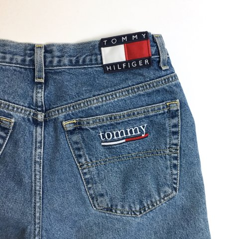 3a53fcfb @lunchpoems. 2 years ago. Connecticut, USA. PRICE REDUCED! These vintage Tommy  Hilfiger jeans ...