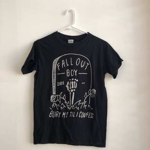 fall out boy t shirt limited edition for halloween several depop
