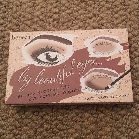7f1846e439a Benefit Big Beautiful Eyes palette. Never used or even Still - Depop