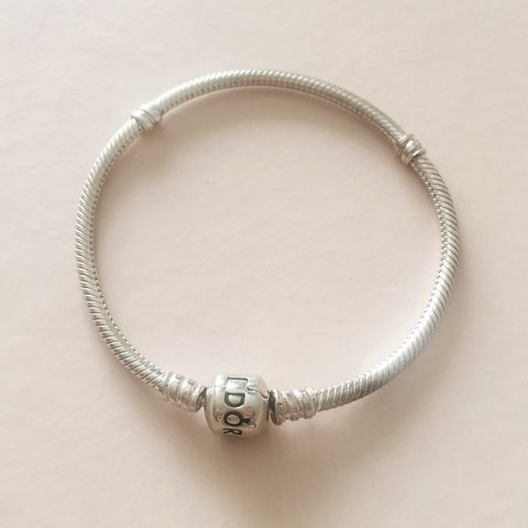 ee7ec20d7 @eviesc. 2 years ago. Saint Albans, United Kingdom. Pandora moments  sterling silver charm bracelet - barrel clasp ...