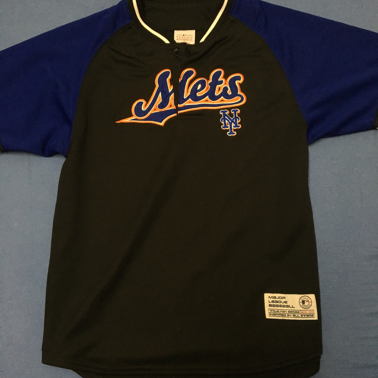 new product 7cf1d d7a1a Old school New York Mets All-Star. warm up... - Depop