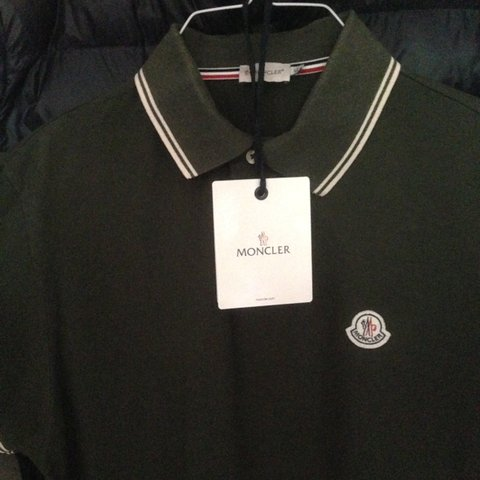 29feec82 @jwidgers1. 3 years ago. Gravesend, Kent, UK. Mens Moncler Polo size XL but  fits Large.