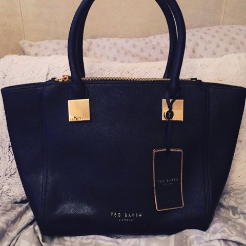 5c033521b @kellyjanerysdale. 3 years ago. Crawley, West Sussex, UK. Black Ted Baker  handbag, brand new condition as never ...