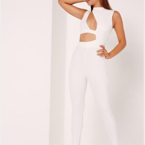 23659add4b0a Missguided cut out jumpsuit - new with tags! Size 6 - £24 - Depop
