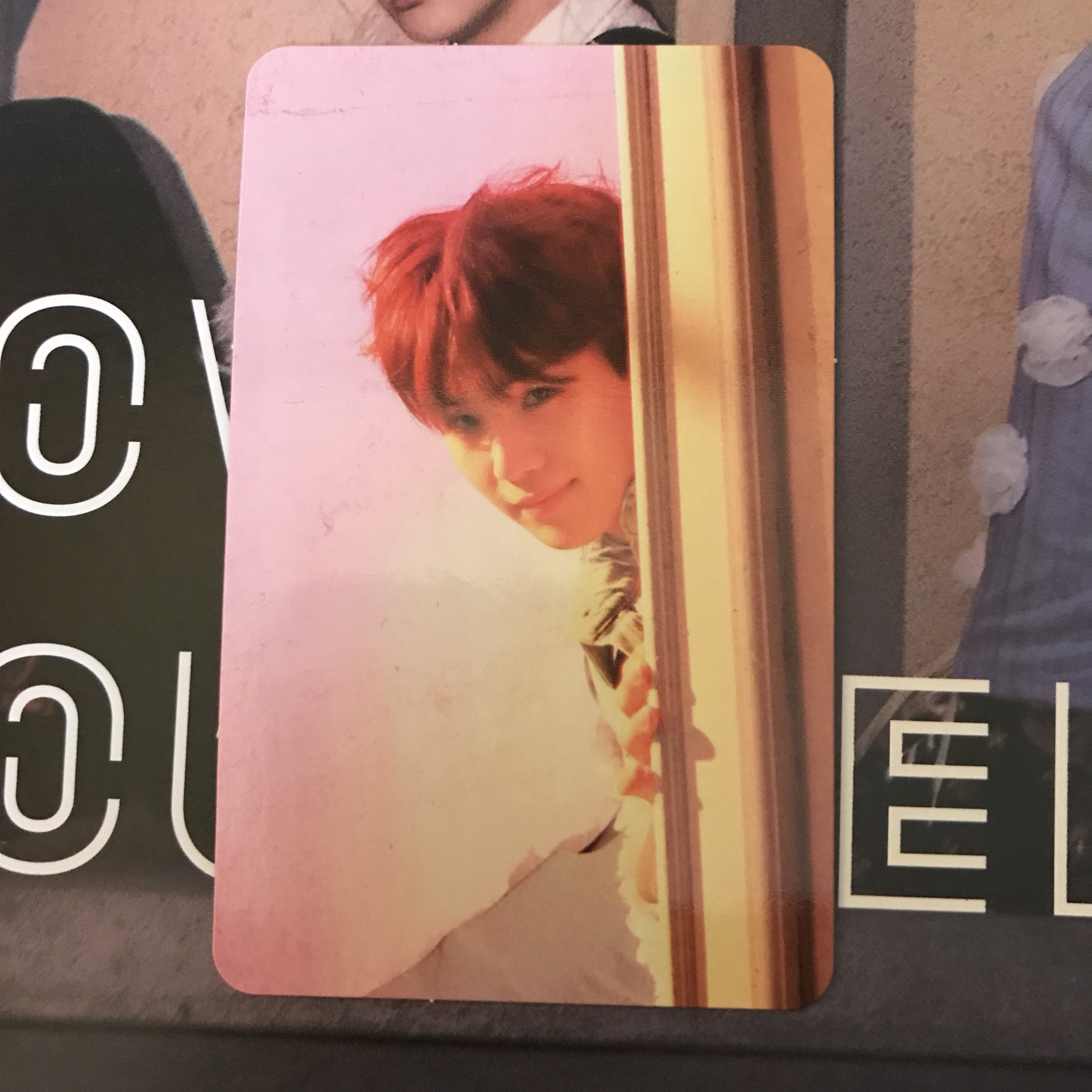 Bts Suga Love Yourself Answer Version E Photocard Depop
