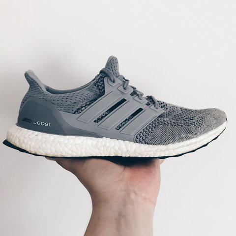 606bbecb02eeb Adidas Ultra Boost 1.0 Wolf Wool Grey. Worn a few times