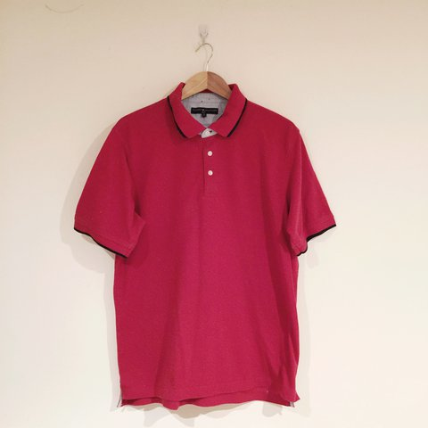 8f1490bc6 This is FIRE!! A vintage late 90s or early Y2K Tommy polo   - Depop