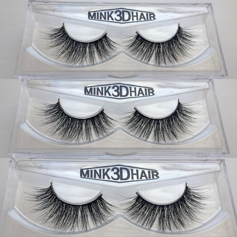 b3f3fd22933 3 Pairs x 3D Mink Stunning False Eyelashes | Signed for only - Depop