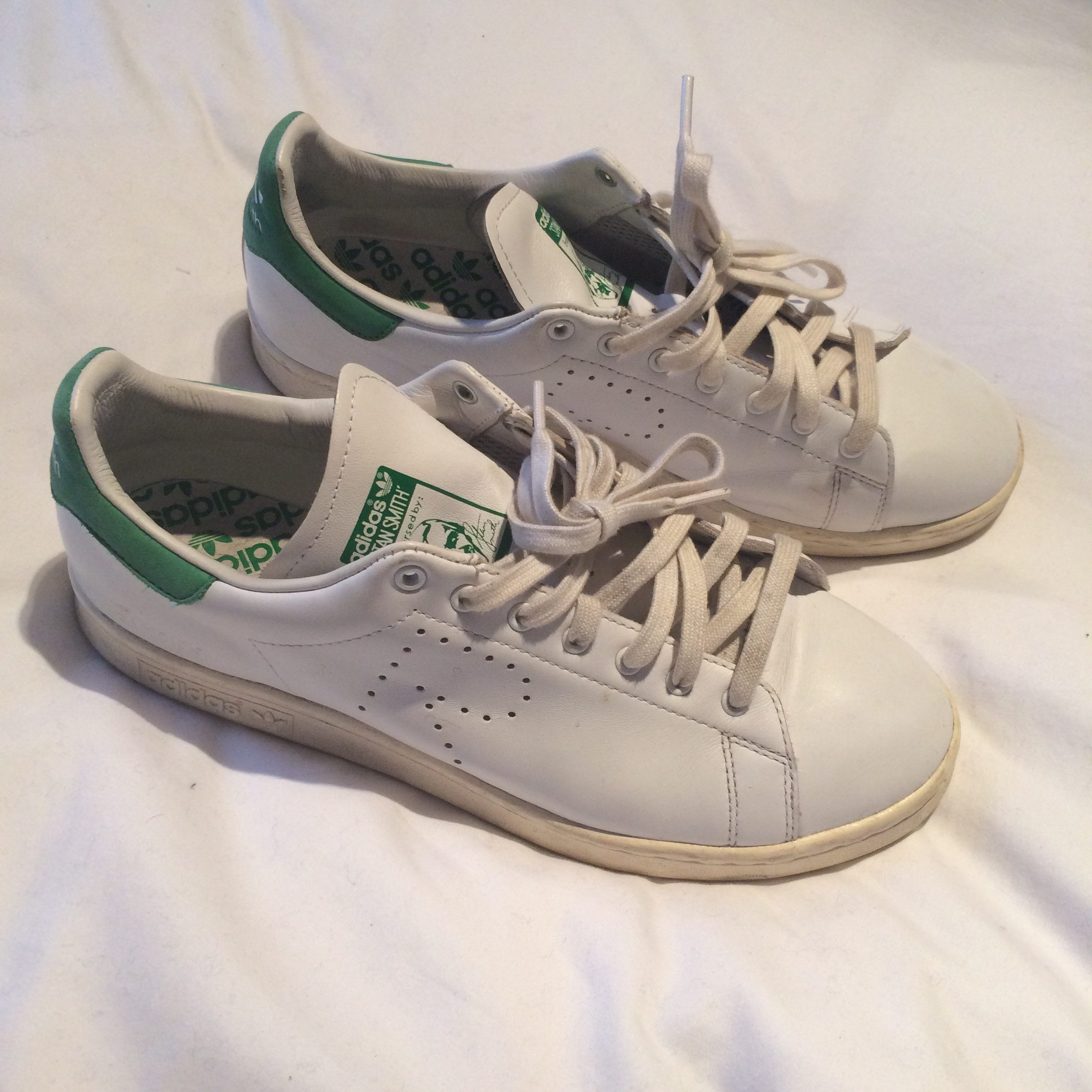 first rate 83ac9 cdc87 Raf Simons Stan Smith's. First edition in good... - Depop