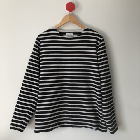 9b3e903139 Norse projects. Horizontal sailor striped Long sleeve to me - Depop
