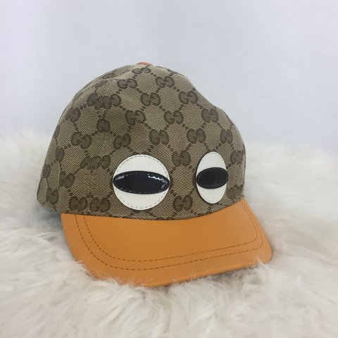 3ca1e9c3d5561 AUTHENTIC GUCCI GOOGLY EYES HAT! RETAIL FOR  400 FROM THE IN - Depop
