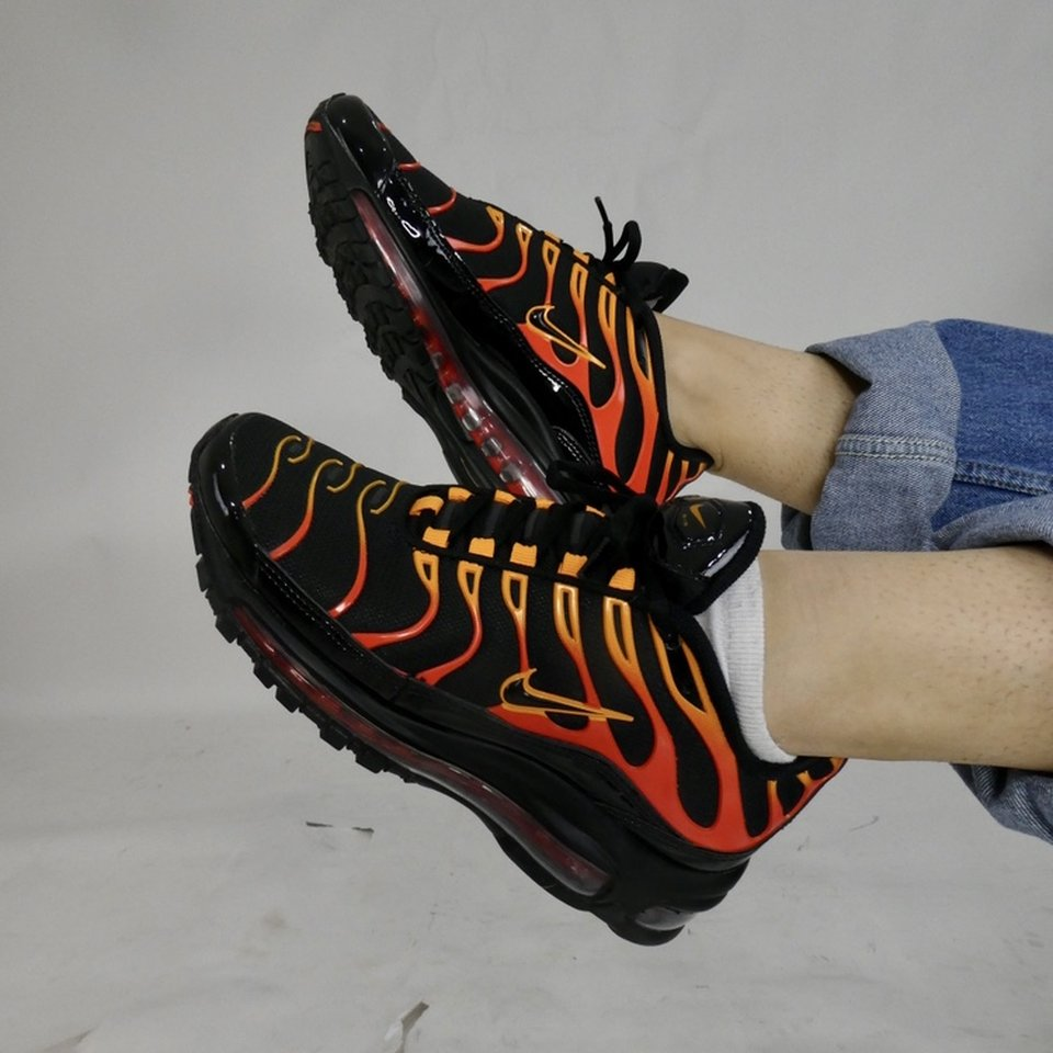 Subir y bajar Costa población  NIKE TN SUNSET ORANGE COLOURWAY SOOO FIRE ...