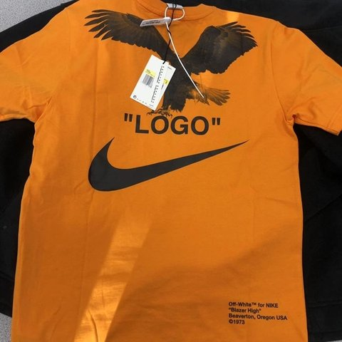 f6887af6 @ryanroddy. 4 months ago. Leicester, United Kingdom. Off- White Nike NRG A6  Tee Orange. Deadstock with all tags ...