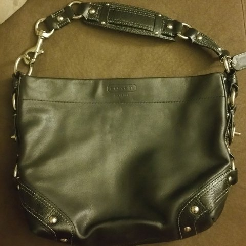 2d30f6a5cd Real leather coach bag. Barely ever used. Medium sized.  bag - Depop