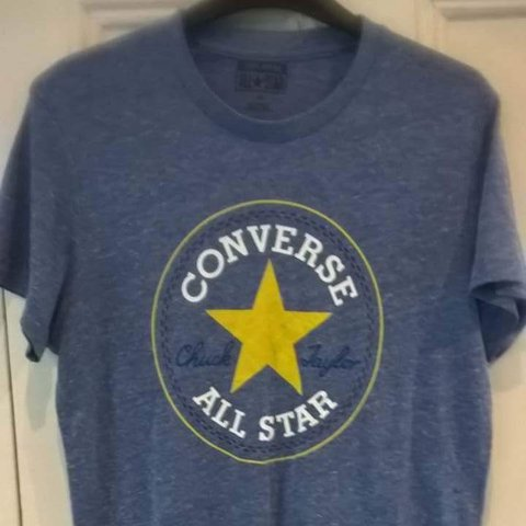 2ed0b0aefdcd Converse All Star t-shirt. Immaculate condition. Size small. - Depop
