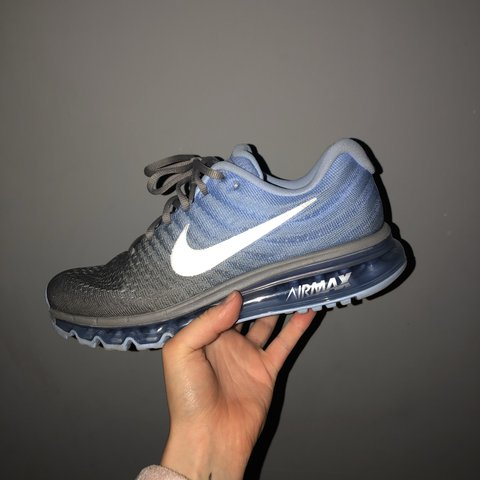 2665bd797c664 NIKE AIR MAX 2017. 8 10 condition worn twice with no box due - Depop