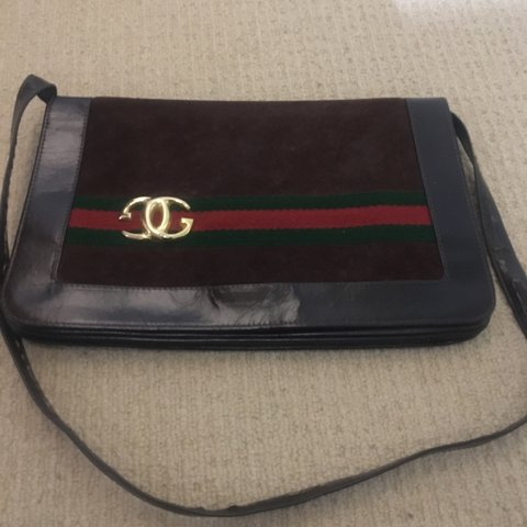 d1db23504 Vintage Gucci Pre serial number but it is one of the first a - Depop