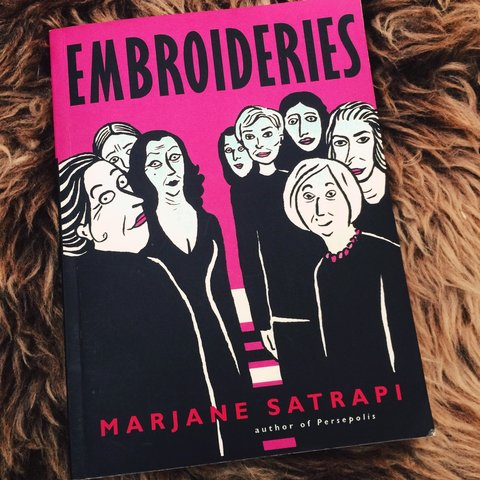 Embroideries By Marjane Satrapi Written By Author Of A Depop