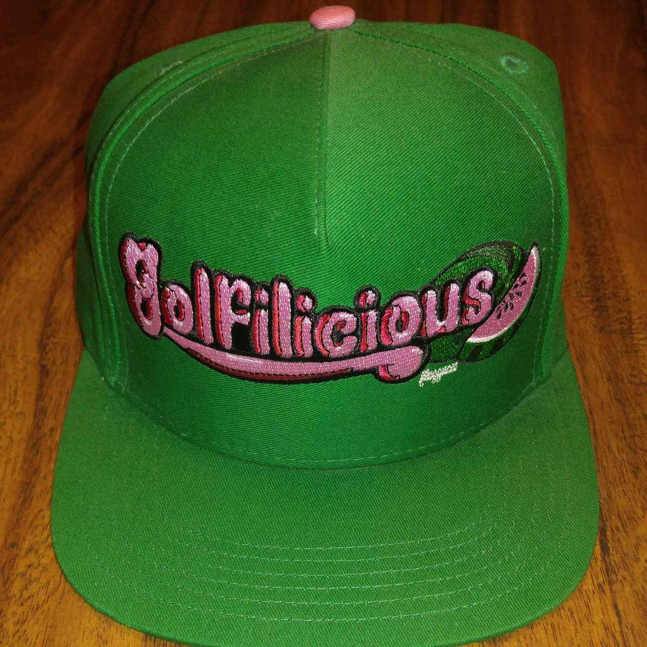 Tyler the Creator golf Wang Golfilicious green snapback new - Depop 27b2b0b86b2