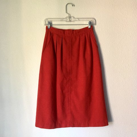 9d9e3a1c0 @baivoss. last year. Phoenix, United States. 🔥LAST CALL🔥 Vintage Red High  Waisted Skirt ...