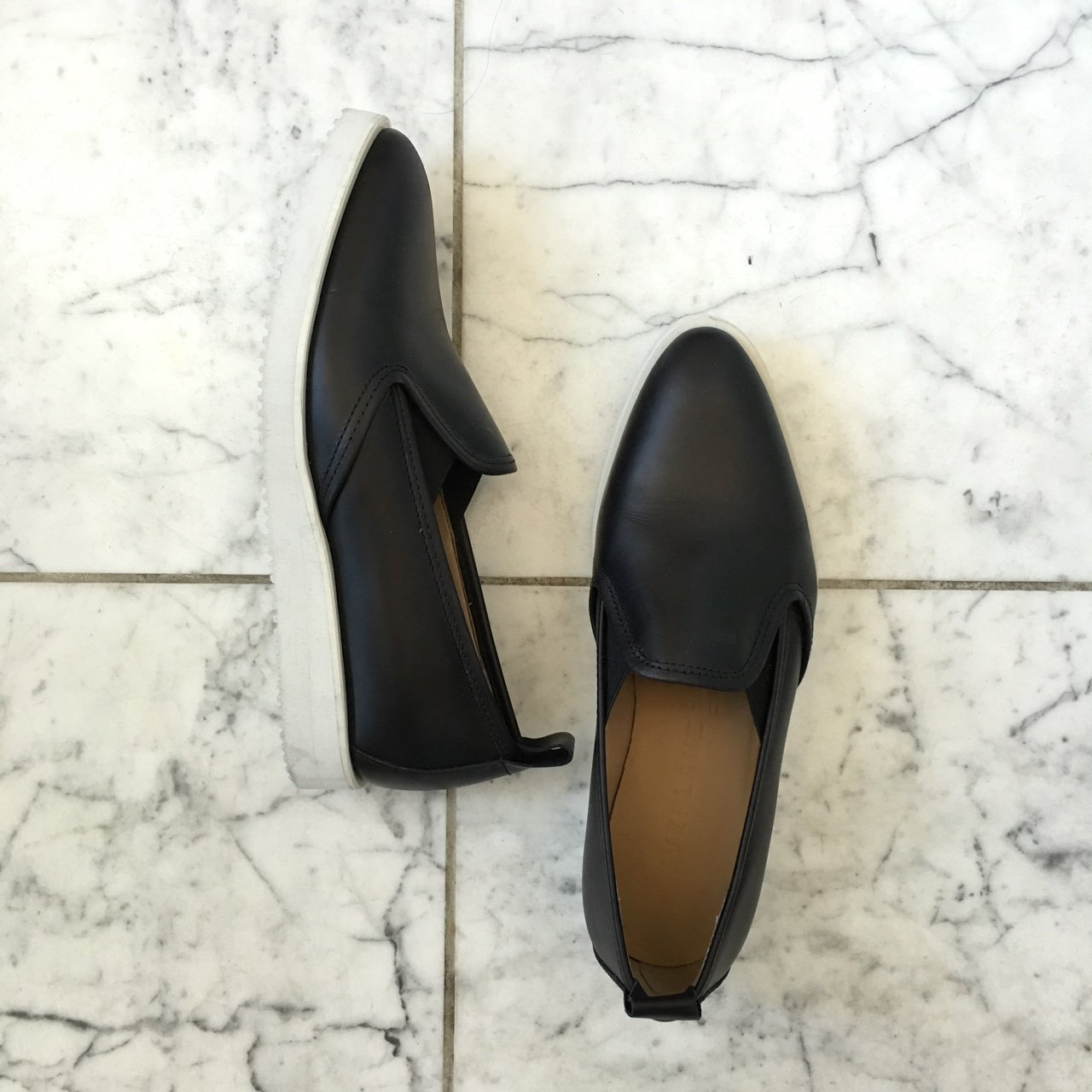 5ccc460ced5bbe Everlane leather street shoe. size 6. run a bit narrow. like - Depop