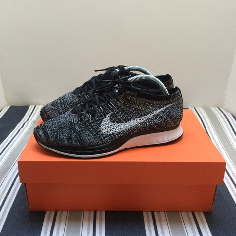 sports shoes 97794 0708a  looroller. 3 years ago. Bristol, United Kingdom. Nike Flyknit Racer Oreo  2.0 ...