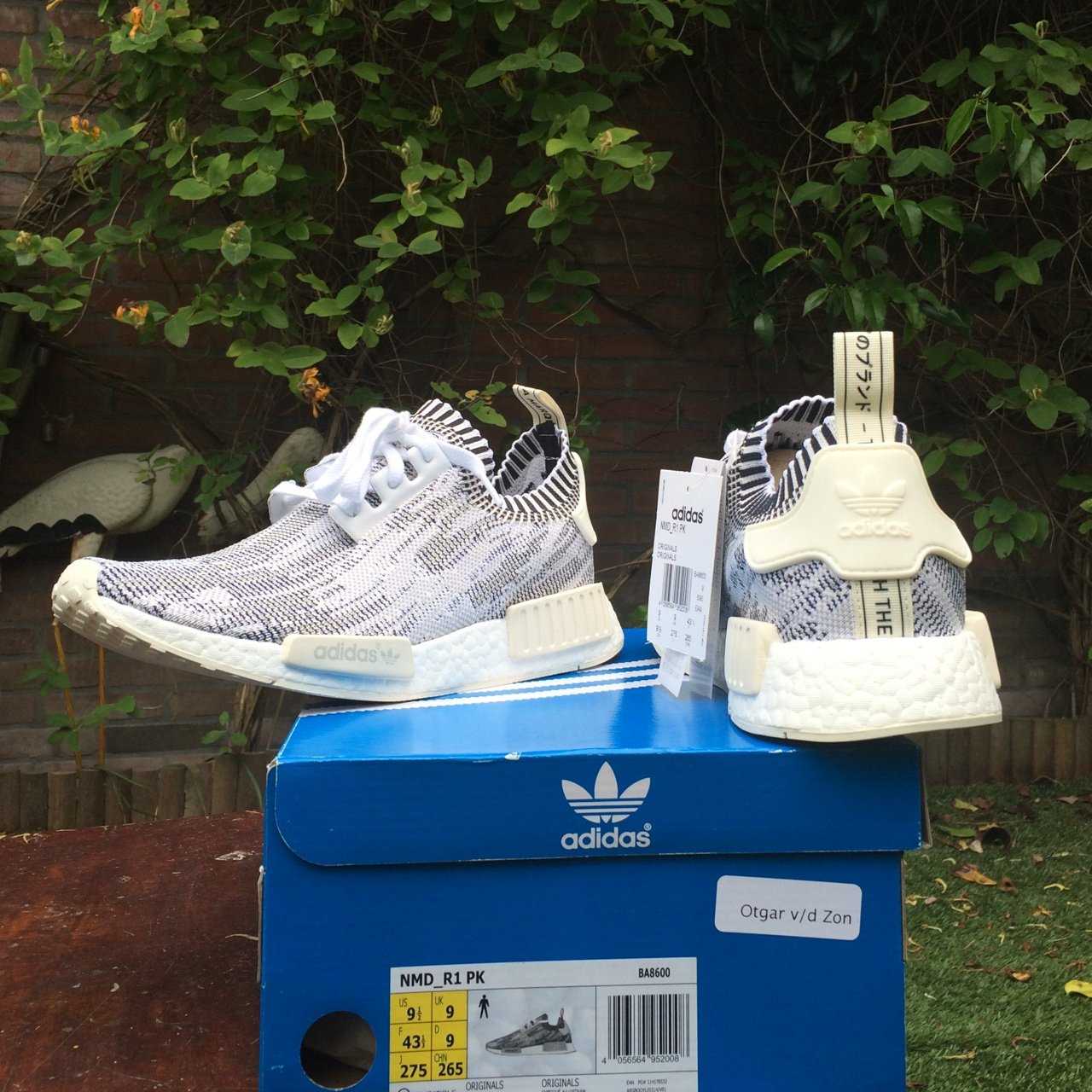 150cd064806 WTS Adidas NMD R1 PK. Camo white grey pack. Size EU43 1 3