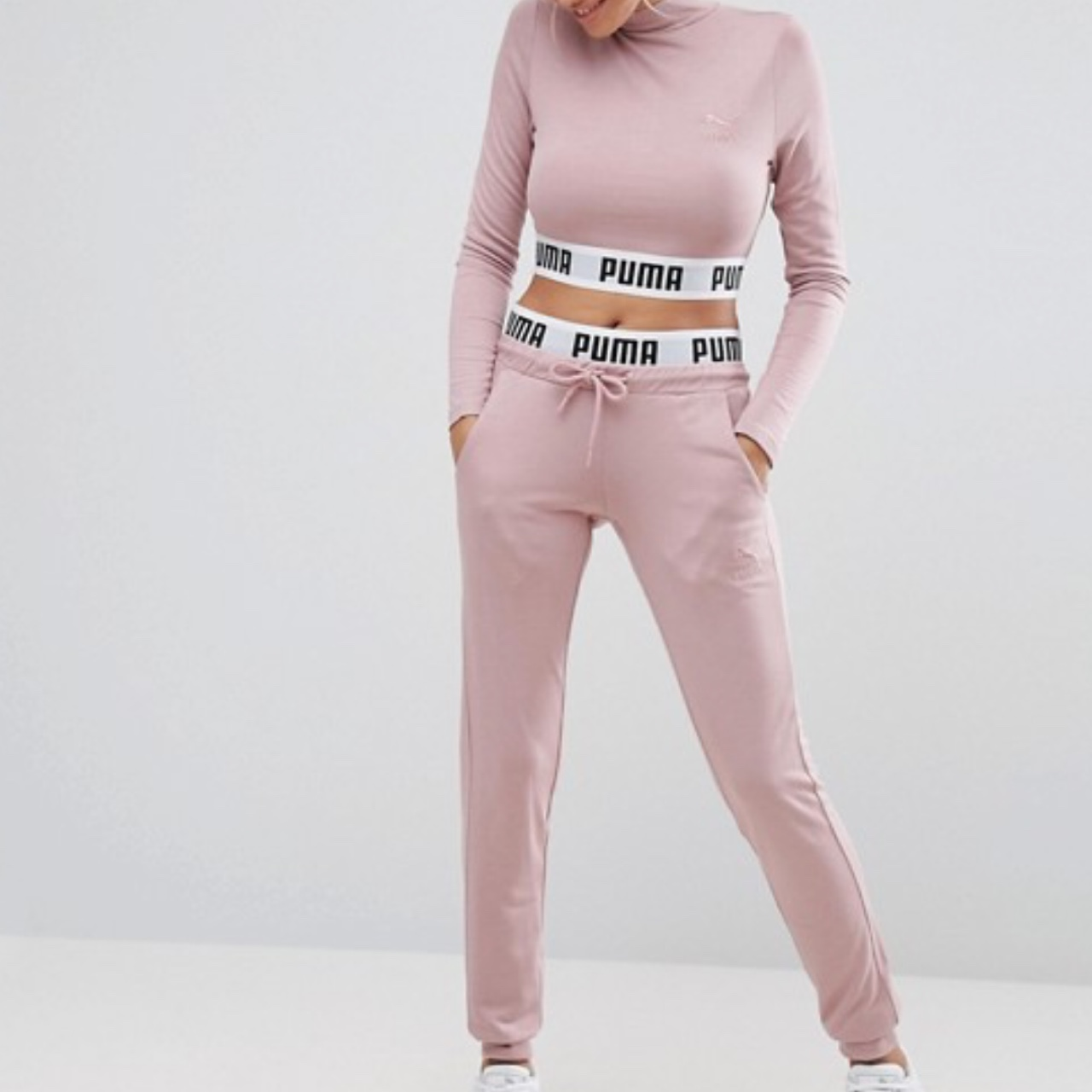 Dusty pink Puma exclusive to asos