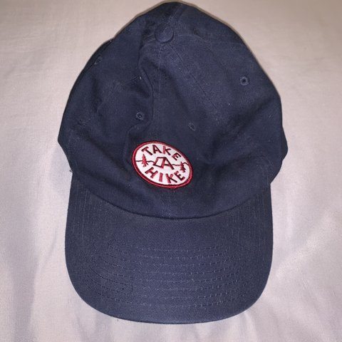 37fb78e9a6f0e Take A Hike Dad Hat condition  great -Beholder brand -wore - Depop