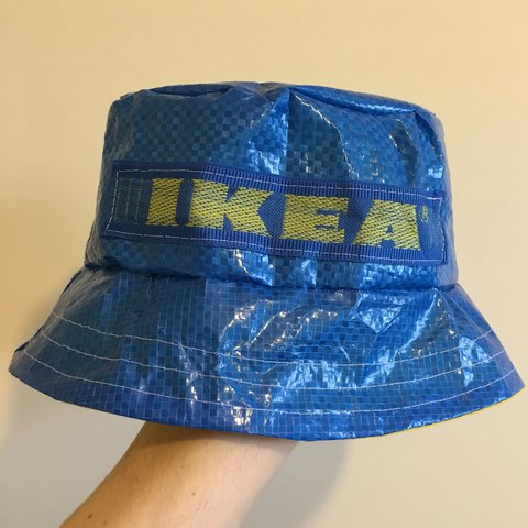 872de57b4de0e ... ireland super wavey ikea bucket hat handmade by chloe for depop a8a2f  3ecad