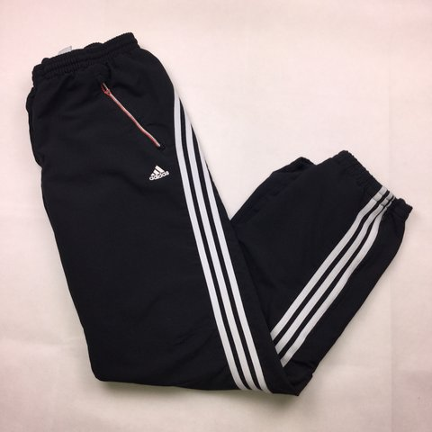 647a33f7dd9 @aileen17. 3 months ago. Brighton, United Kingdom. Black Adidas tracksuit  bottoms ...