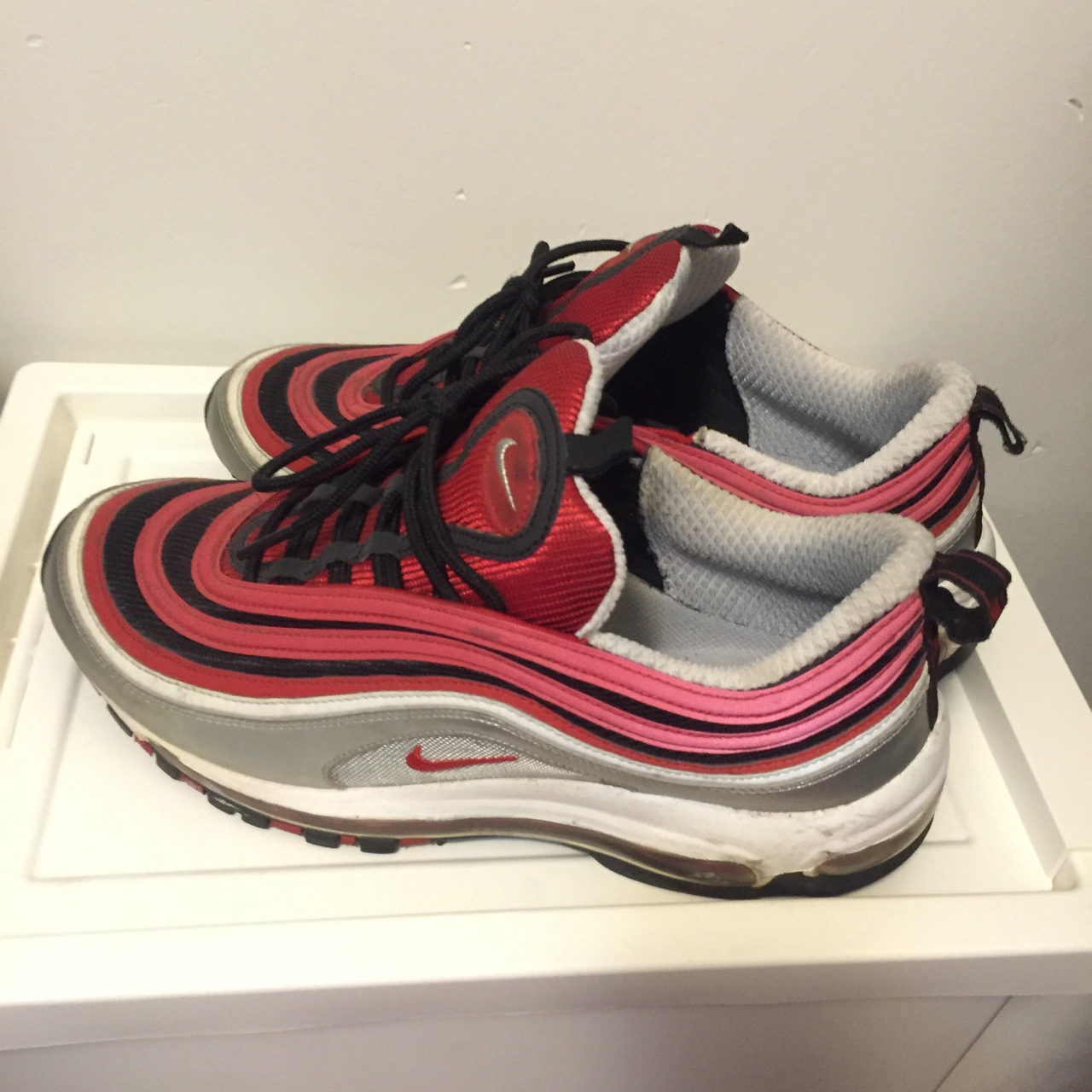 best loved 6c8ea cc7b5 OG Red Air Max 97's | Good Condition #airmax #Nike... - Depop