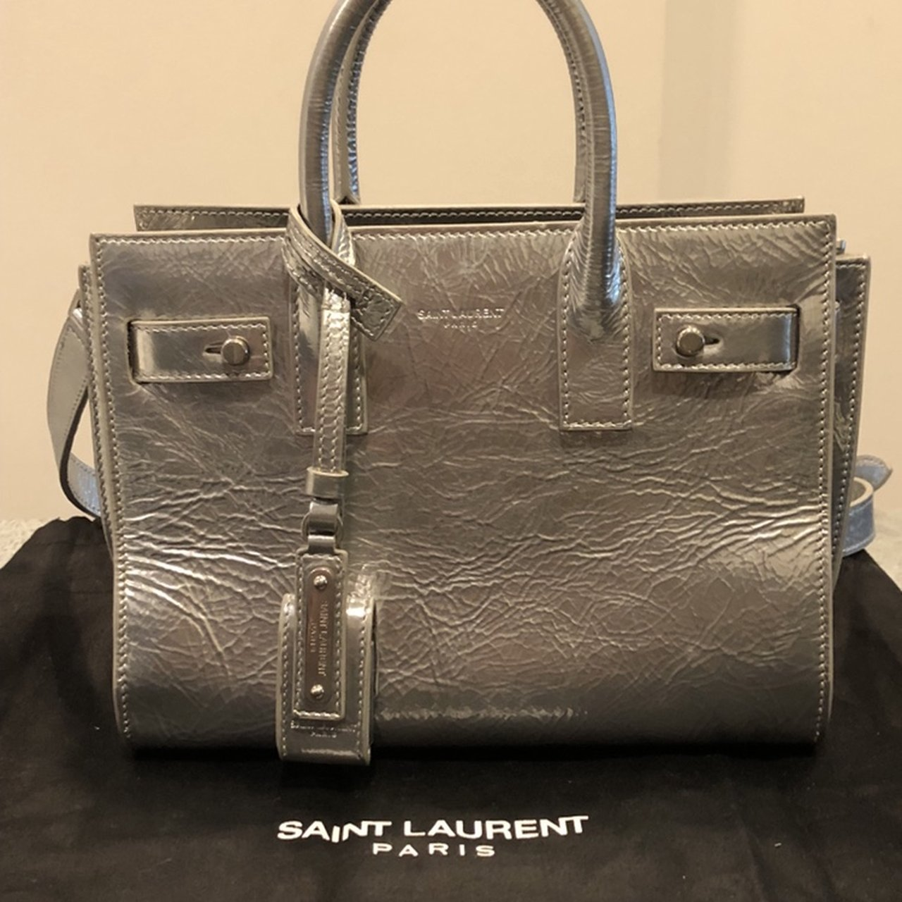 125fa08baa21 YSL YVES SAINT LAURENT CABAS LARGE TOTE BAG 🌟designer side - Depop