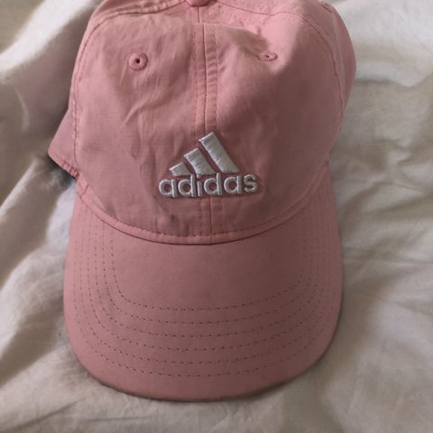 e183514aeacfe Adorable baby pink Adidas cap💘 adjustable size💘really but - Depop