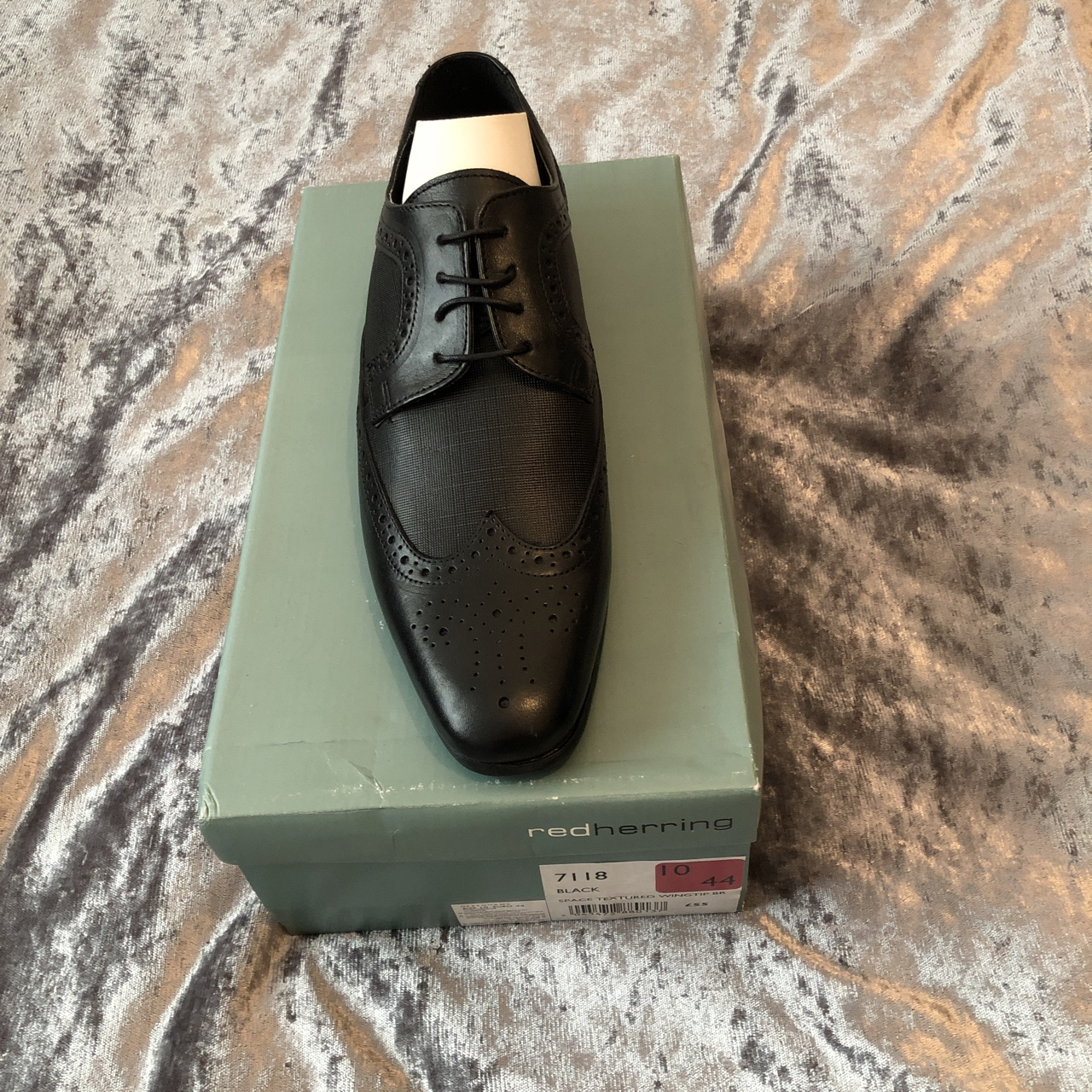 Men's red herring shoes. Paid £55, size