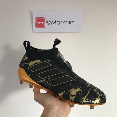 the best attitude 4b316 aff0d adidas paul pogba limited edition football boot    copped of – depop.  Download Image 480 X 480