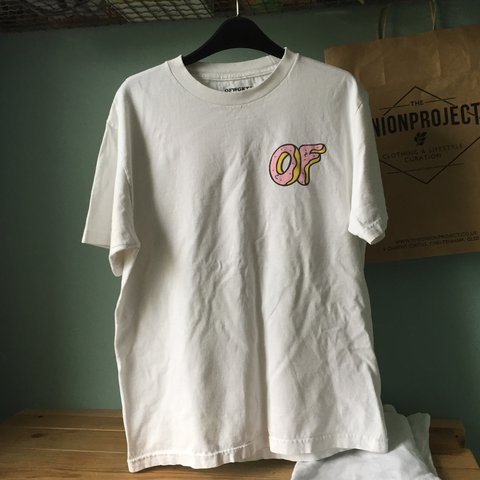 d01041c3cbba Odd Future doughnut  OF  classic tee small logo on front