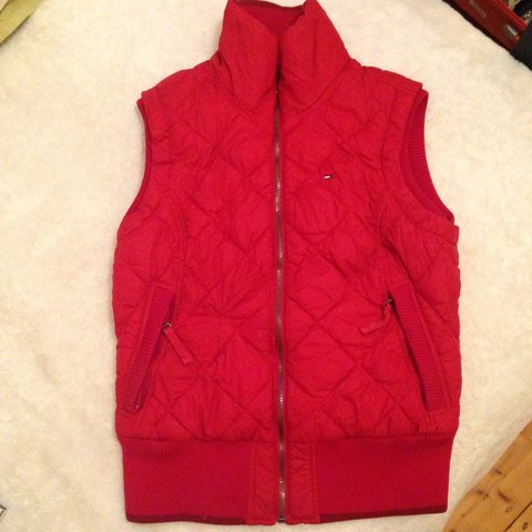 b28486addf2 Red body warmer from Tommy Hilfiger. Bought for €120