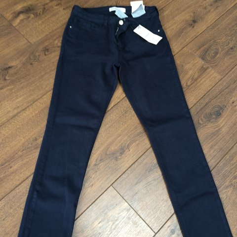 2056e74c Zara Jeans for sale. Colour Navy. Brand new with tags. at - Depop